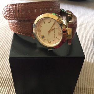 Michael KORS Heritage double wrap watch